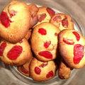 Cookies a la fraise