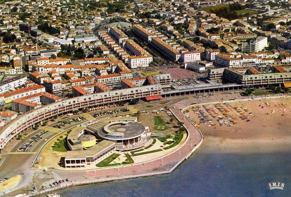 Royan, vue sur le centre reconstruit