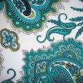 lord paisley bleu vert