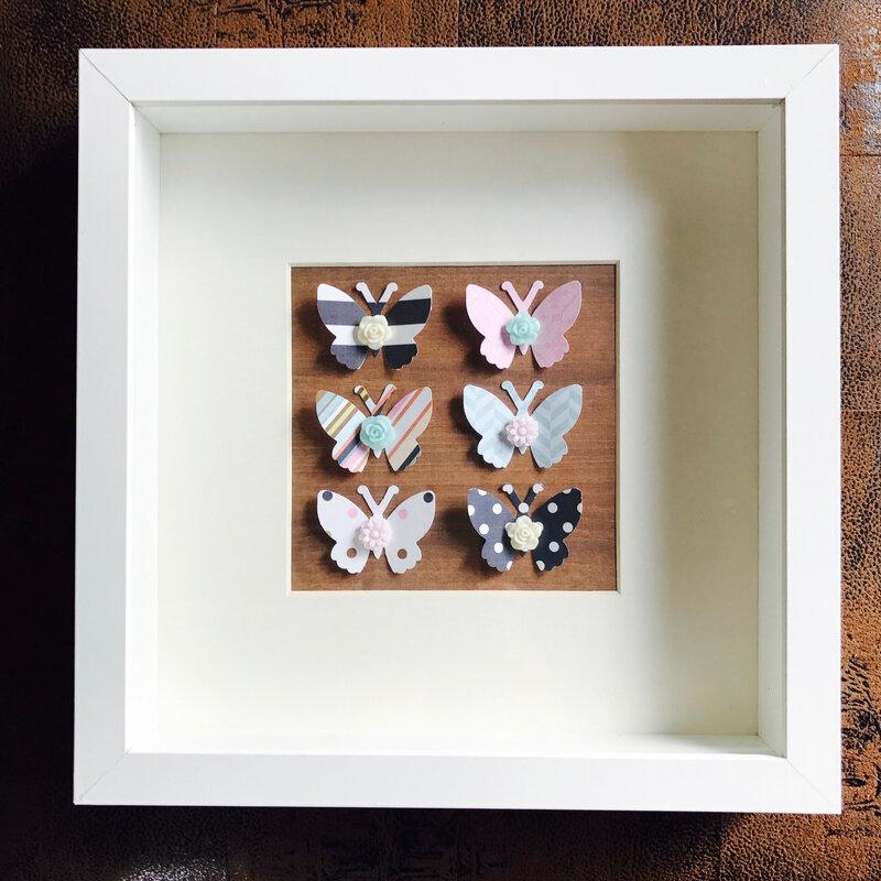 Cadre papillons