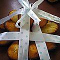 Madeleines au citron de.... cyril lignac !