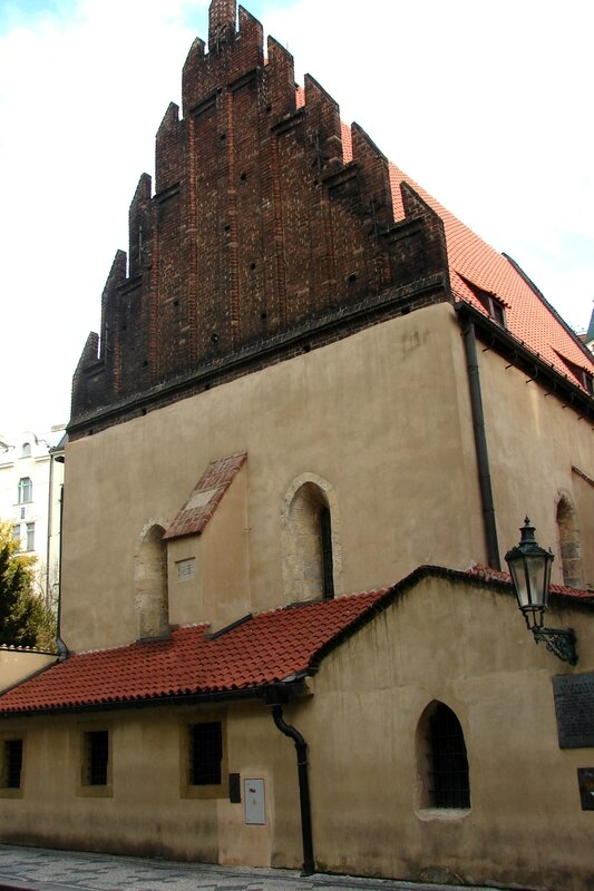 Prague synagogue Vieille-Nouvelle 1