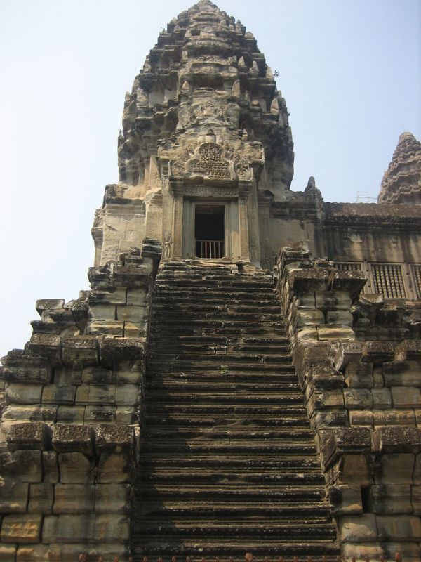 Angkor Wat (vertige de l'ascension)