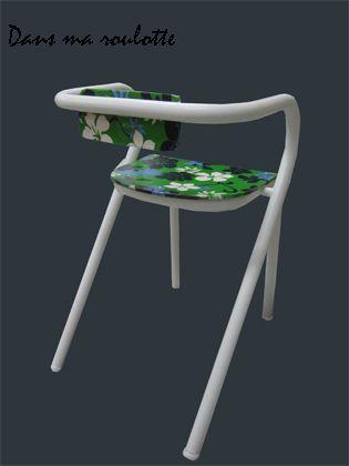 Chaise tissu Tahiti
