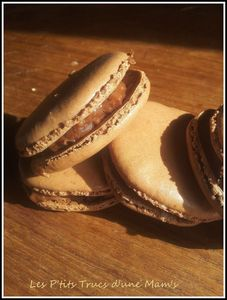 Macarons choco-crunch les petits trucs d'une mam's