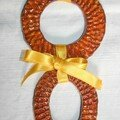pendentif double orange