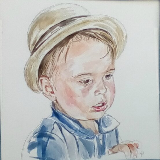 louis aquarelle