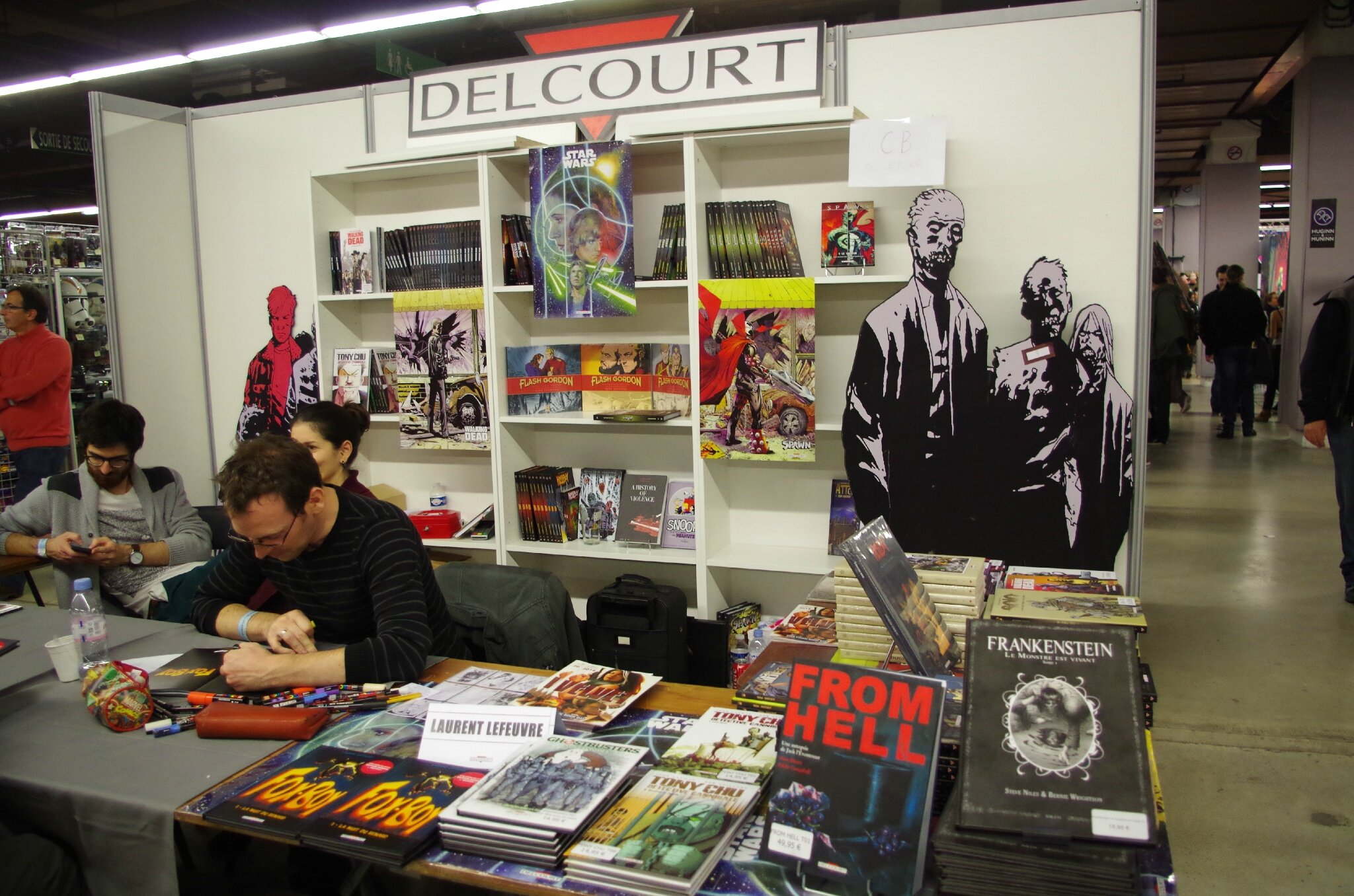 Paris Comics Expo 2014