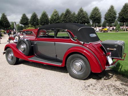 HORCH 830 Cabriolet 1933 Classic Gala de Schwetzingen 2009 2