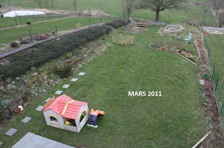 Mars retour au jardin id es jardin for Idee plantation jardin