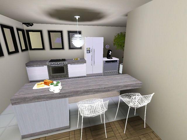 maison sims 3 interieur cuisine