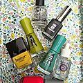 The sunday nail battle - splatter