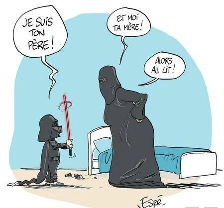 islam burka humour starwar