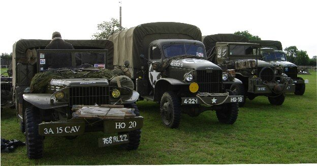 véhicules de guerre WWII Military Vehicle Conservation Group (M