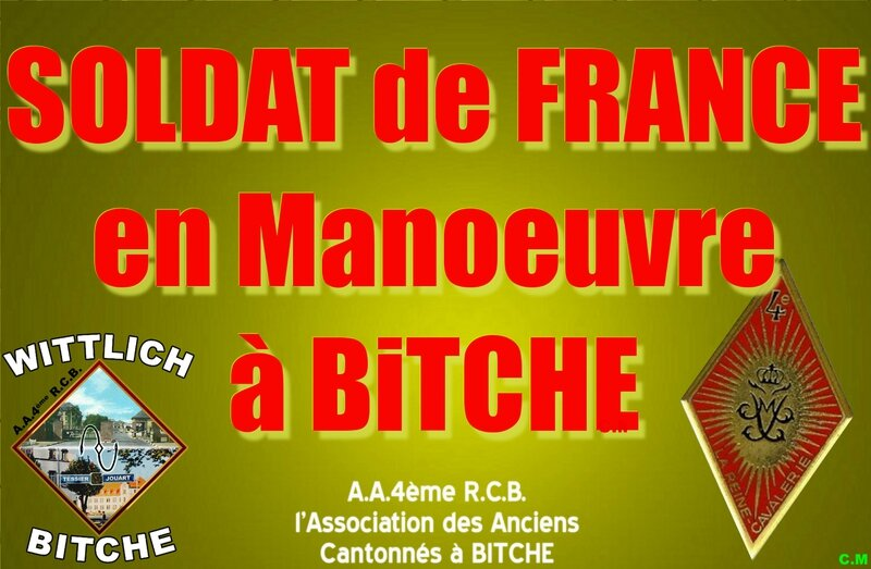 SOLDAT de FRANCE en manoeuvre à Bitche