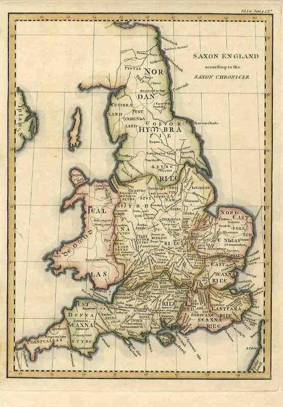 Anglo saxon chronicle carte 2