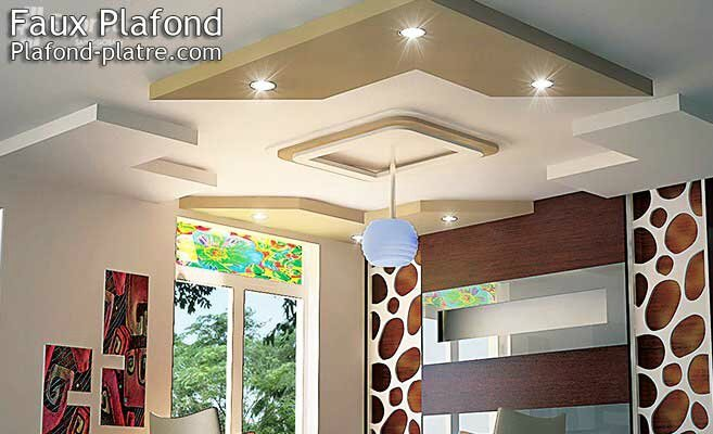 Faux plafond design for Deco plafond design