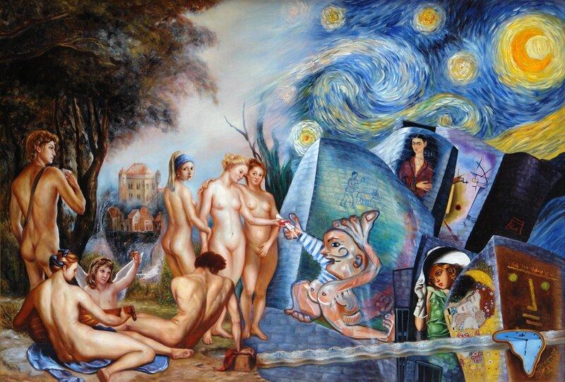 AnaPardo-Oleo-Las-edades-del-Arte-3-El-relevo