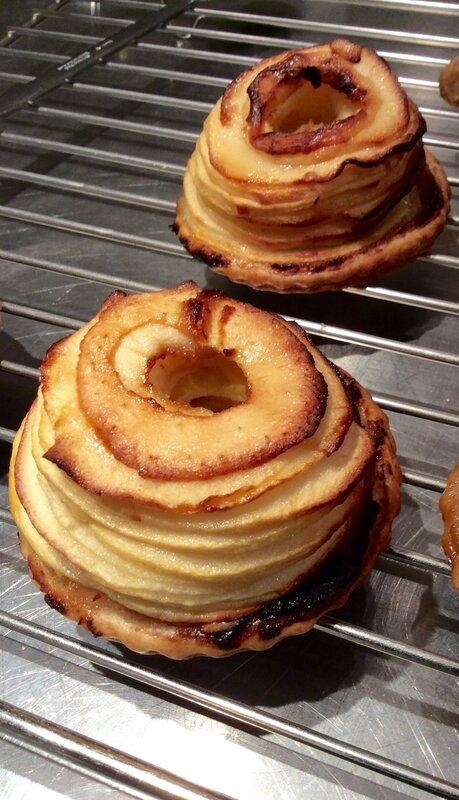 Tartelettes aux pommes façon Jacques Génin