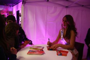 miss France Laury Thilleman salon mariage Avranches