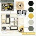 Kit ateliers multi*albums de novembre (1ère version), scrapucine