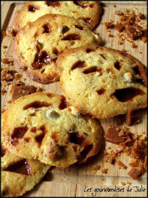 cookies caramel noisettes