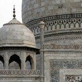 Detail of the Taj
