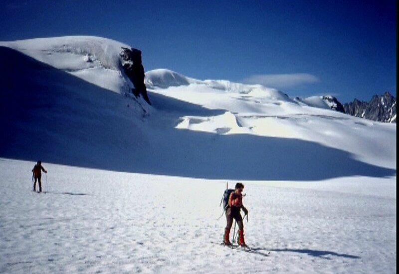 glacier du Mt Collon