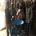 Lydia ludic togo encourage l'action du club des mères de keta zalive