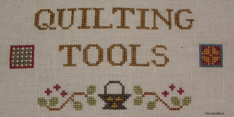 gros plan quilting tools
