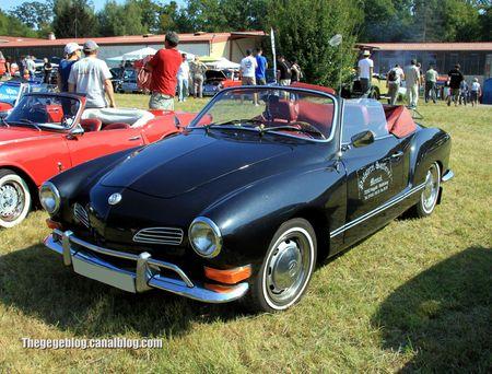 Vw karmann ghia cabriolet (Auto Retro nord Alsace Betschdorf) 01