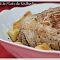 Petit Plat express de rentre (5) - Rti de dinde  la bire et aux pommes