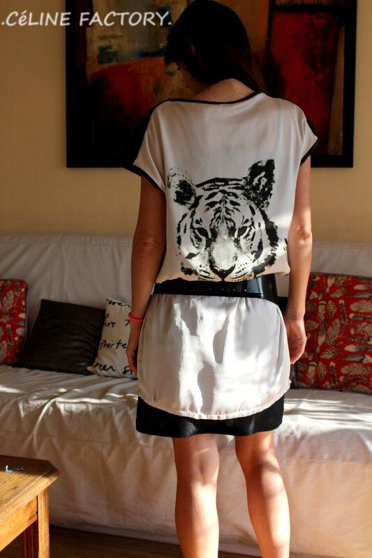 Robe tigre 3