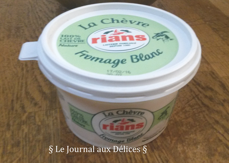 fromage blanc chèvre