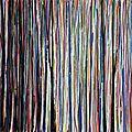 Forêt #67, sept 2016, techniques mixtes, 32 x 24 cm