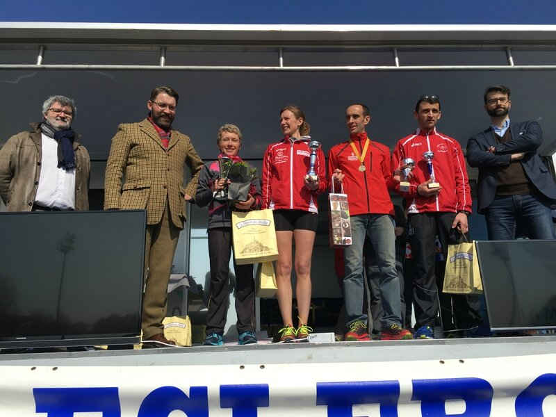 Athletic Club Avranches podium course 2016 10km