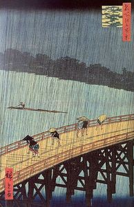 387px-Hiroshige_-_Evening_Shower_at_Atake_and_the_Great_Bridge