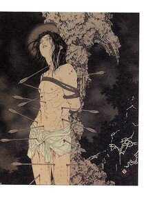 Artbook Takato Yamamoto Divertimento ukiyoe ukiyo-e sm manga 010