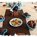 Table gourmandises chocolatées 025
