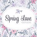 Spring lane cal by dropsdesign #2