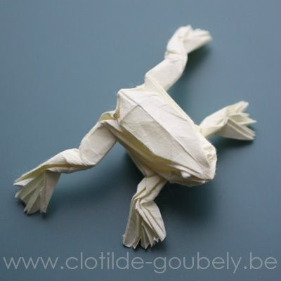 grenouille-origami