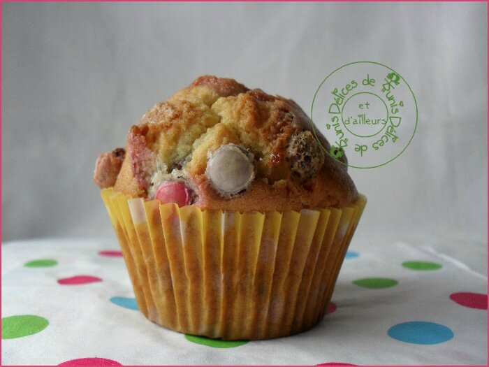 muffins aux smarties 2