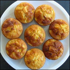 Muffins à la mangue et citron