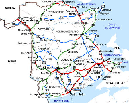 New_Brunswick_road_map