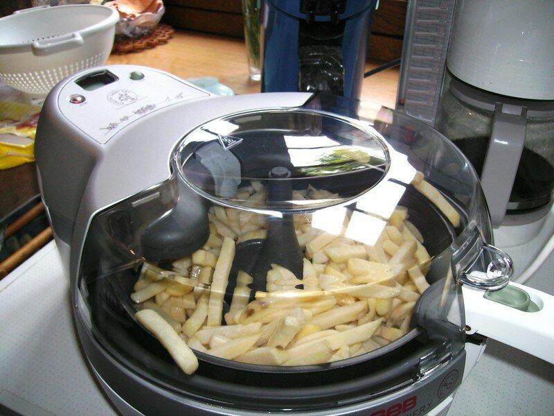 Les frites sans huile ou presque radine non conome - Cuiseur frites sans huile ...