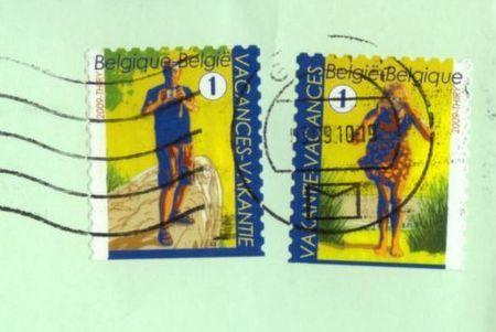 amusants timbres belges