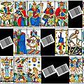 Vincent beckers et les codes-barres des cartes de tarot