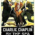 Charlot à la plage (by the sea)