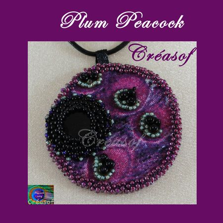 collier plum peacock 5