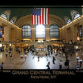 Photo panoramique - grand central terminal